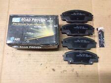 New ARI Roadproven 62-D829 Premium Semi-Metallic Disc Brake Pad Pads