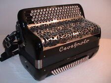Cavagnolo -Virtuose 24, (C Griff) Akkordeon, Koffer, Gurte, accordion, acordeon