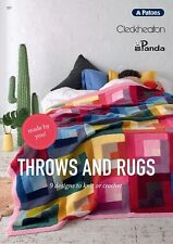 Throws and Rugs 357 Patons - Knitting, Crochet, Sewing, Patterns