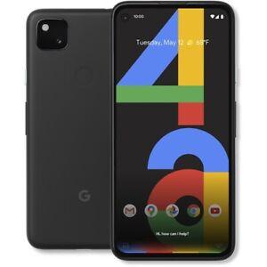 Google Pixel 4a 128GB (Unlocked) - Just Black with warranty
