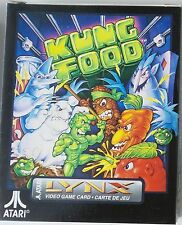 Kung Food Atari Lynx ~ Brand New Factory Sealed In Package!