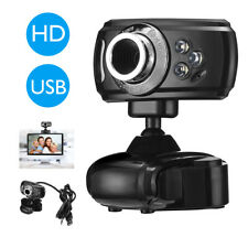 HD 1080P Webcam USB Computer Web Camera For PC Laptop Desktop Video Cam