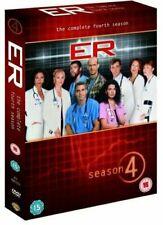 ER. Season 4. Series 4. Fourth Season. 3 Disc Dvd Set. Region 2. E.R.