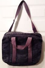 BROOKSTONE Messenger Shoulder Tote Bag Canvas VG