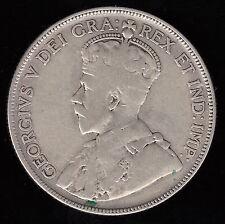1934 Canada Fifty Cents - Key Date Half Dollar