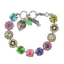 Mariana Power Silver Plated Crystal Tennis Bracelet 4084 803 SP