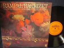 """Jean-Pierre Rampal-Pierre Barbizet""""Franch:Sonata in A Major"""" LP"""