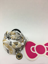 Sanrio Hello Kitty Hair Elastic Tie with Hello Kitty Charm Flower Design