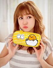 Sanrio Gudetama Kawaii Egg Nylon Pencil Case Cosmetic Pouch KRT-661495A