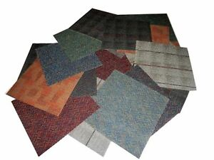 "CARPET TILE 15 PCS= 18"" x 18"" MULTI COLOR DESIGN COORDINATE total 33.75 S/F"