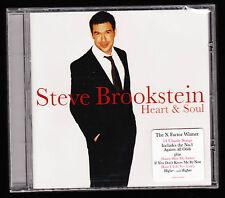 STEVE BROOKSTEIN - HEART & SOUL - 14 TRACKS - X FACTOR WINNER - NEW & SEALED CD