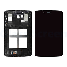 LG G Pad 7.0 V400 V410 VK410 LCD Screen Digitizer and Bezel Frame Black, LG Logo