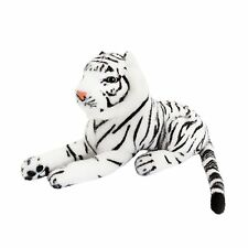 "BRUBAKER Cute White Plush Tiger, 10"", Soft Toy, Stuffed Animal"