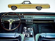 1967 CHEVY EL CAMINO ORIGINAL AD - 283/327/396/V8 engine/ss/dash/seats/interior