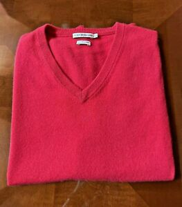 Peter Millar 100% Pure Cashmere Red Golf Vest 2X