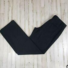 Dockers Mens Pants 34x34 Black D2 Flat Front 2 Side Slit/2 Button Back Pockets