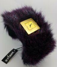 Axcent Watch Fluffy Purple X21392-71LP **New Battery** A