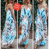 Boho Long Maxi Robes femme été soirée robe de cocktail plage robe de soleil