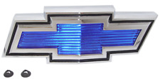 71-72 Chevy C10/K10 Truck Suburban Blue Grill Bow-Tie Emblem