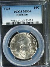 1936 Robinson Arkansas Commemorative Silver Half $ - MS64 (PCGS)   stk#5035