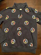 Abercrombie Kids Girls Size 7-8 Moose Logo 1/2 Zip Sweatshirt