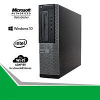 Dell Desktop 3010 Quad Core i5 PC 3.2GHz 16GB RAM 2TB HD Win Computer HDMI WiFi