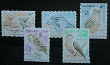 Monaco 1993 Birds of Prey Set UM. SG 2107/11