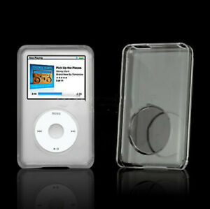 2pcs Clear Crystal Hard Plastic Cover Case Skin For iPod Classic Video Thin