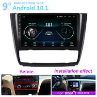 9'' Android 10.1 2+32GB Car Stereo Radio GPS For BMW E88 E82 E81 E87 2004-2011