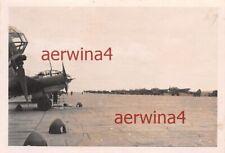 Flugzeug Ju 88 Staffel KG3 Flugplatz Pleskau Russland Ostfront