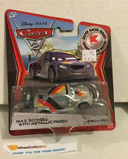 Max Schnell w/ METALLIC Finish * KMART Only * Disney Pixar CARS 2 Pixar * L4