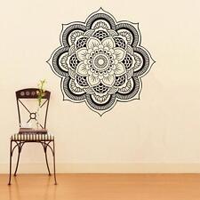 Mural Mandala Indian Pattern Yoga Om Sign Wall Sticker Religion Vinyl Art Decal