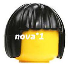Lego Negro Bob Cabello Hembra Niña Princesa Para Minifigura
