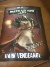 Dark Vengeance Edition Limitée-WARHAMMER 40000 40K Workshop comment jouer