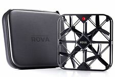 ROVA Flying Selfie Drone with 12MP Camera and HD Video Black A10