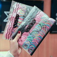 Kids Girl Elastic Rope Hair Ties Ponytail Holder Rubber Band Hairband Multicolor