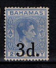Bahamas 1940 3d on 2½d surcharge  SG161 Mint MH