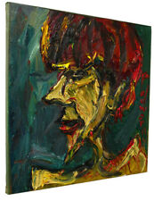 Original Expressionism  Surreal   Oil Painting -Thick Impasto   Oil Painting