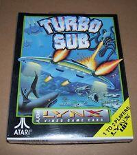 Atari Lynx video game handheld console cartridge Turbo Sub NEW BOXED sealed 1991