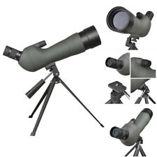 20-60x Zoom Spotting Scope 60mm Monocular Birdwatching Telescope Tripod with Bag