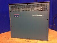 Cisco Catalyst 4000 Series Catalyst 4006