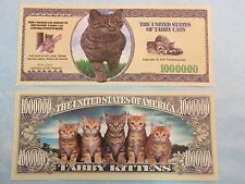 The United States of TABBY CATS & Kittens ~*~ Fun $1,000,000 One Million Dollars