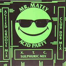 """Mr. Matey Acid Party 12"""" Vinyl Schallplatte 161828"""