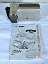 Sharp Camcorder VL-E685 for Parts Or Repair + User Manual Guide