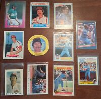 "11 Card ""Oddball"" lot MIKE SCHMIDT Phillies Drake's + more NM/MT 1986-1992 HOFer"
