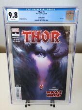 Thor #4 2nd Print CGC 9.8 (2020) 1st Black Winter Cover