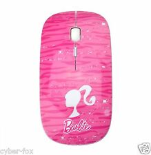 Cute Girl Pink 2.4G Wireless Slim Flat Optical Mouse Mice For PC Laptop