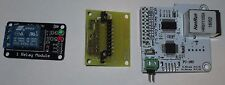 ENC28J60 Network Module / USB - 1/2/4/8 Channel Relay Adapter Module - Assembled