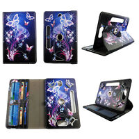 "Tablet Case for 8 inch Universal 8"" 8inch Android Cover Style Galaxy Butterfly"