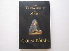 THE TESTAMENT OF MARY - COLM TOIBIN - Hardback Book -  Unread Condition